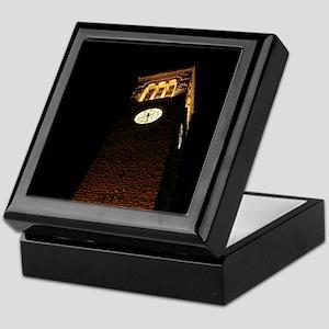 Cornell Clock Tower at Night Keepsake Box