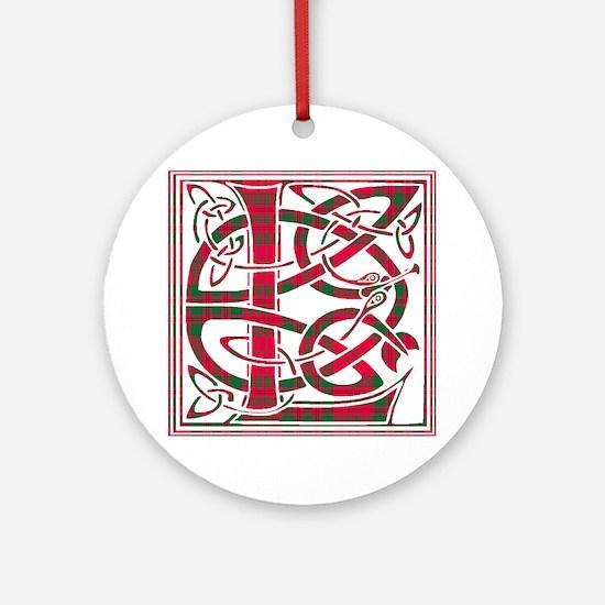 Monogram - Livingstone Ornament (Round)