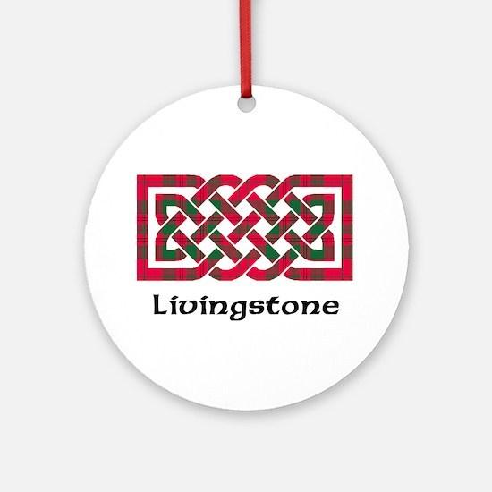 Knot - Livingstone Ornament (Round)