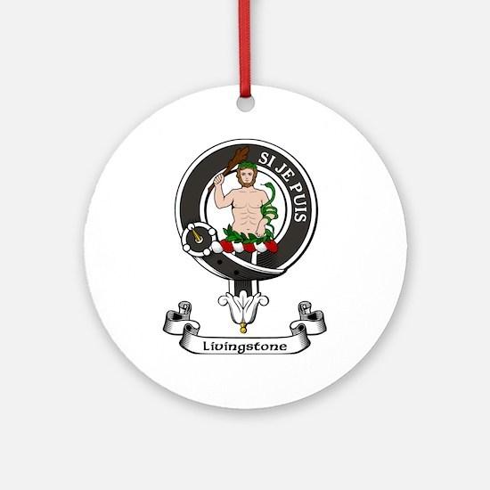 Badge - Livingstone Ornament (Round)