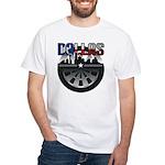 dallas darts White T-Shirt