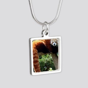 Lounging Red Panda Necklaces