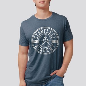 Star Trek Starfleet Academy Mens Tri-blend T-Shirt