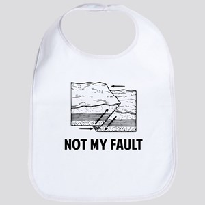 Not My Fault Baby Bib