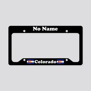 No Name CO License Plate Holder