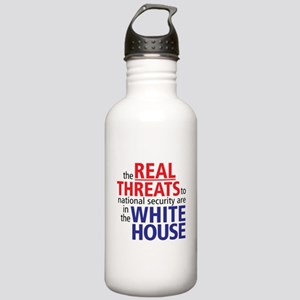 The REAL Threats... Stainless Water Bottle 1.0L