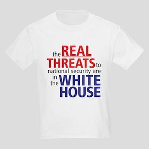 The REAL Threats... Kids Light T-Shirt