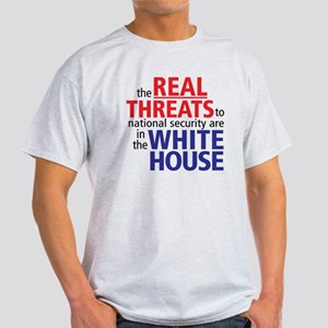 The REAL Threats... Light T-Shirt