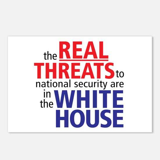 The REAL Threats... Postcards (Package of 8)