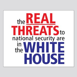 The REAL Threats... Small Poster