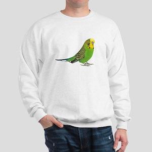 green parakeet Sweatshirt