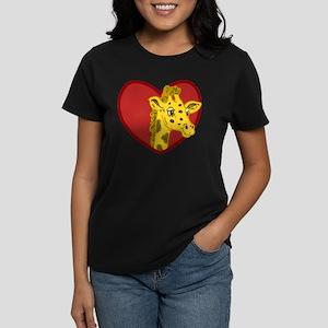 Giraffe Valentine T-Shirt
