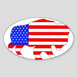 American Buffalo Sticker