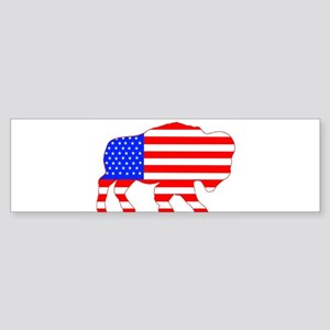 American Buffalo Bumper Sticker