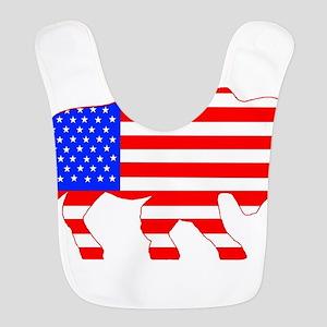 American Buffalo Polyester Baby Bib