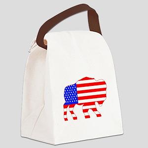 American Buffalo Canvas Lunch Bag