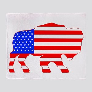 American Buffalo Throw Blanket