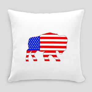 American Buffalo Everyday Pillow