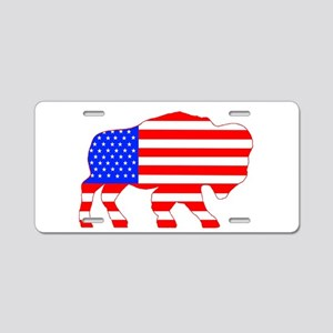 American Buffalo Aluminum License Plate