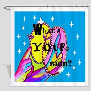 What's Your Sign? Shower Curtain