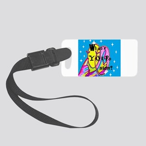 What's Your Sign? Small Luggage Tag