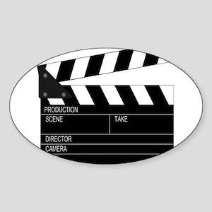 Director' Clap Board Sticker