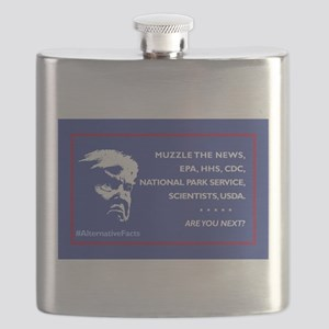 Trump: Muzzle the News, etc. Are You Next? Flask