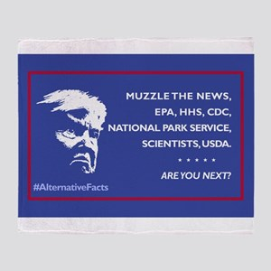 Trump: Muzzle the News, etc. Are You Throw Blanket