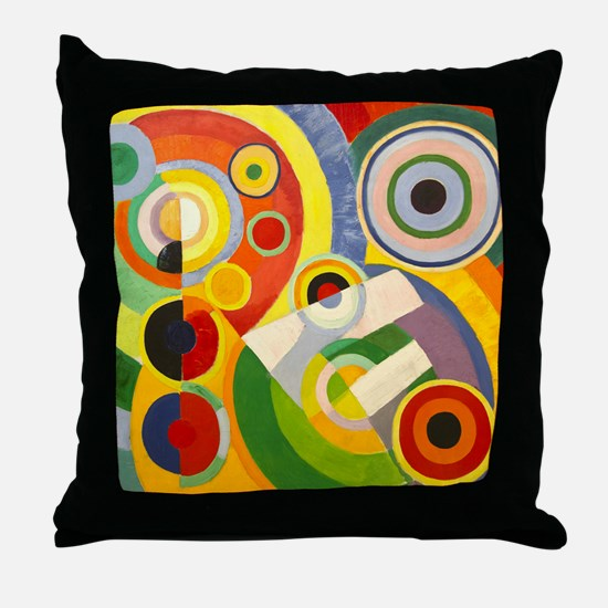 Funny Painter Throw Pillow