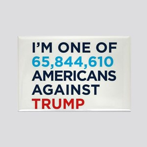 AGAINST TRUMP Magnets
