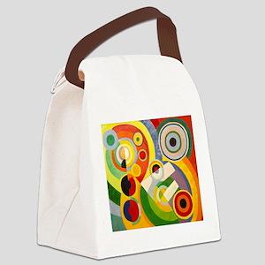 Rythme, Joie de vivre Canvas Lunch Bag