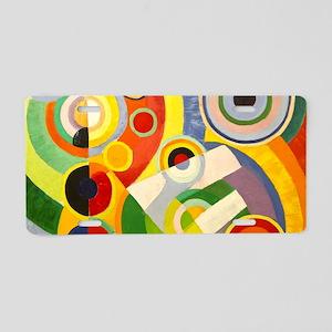 Rythme, Joie de vivre Aluminum License Plate