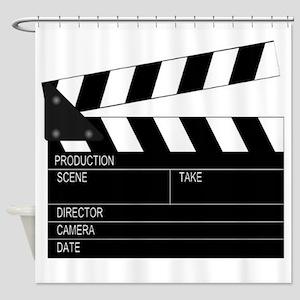 Director' Clap Board Shower Curtain