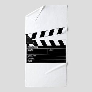 Director' Clap Board Beach Towel