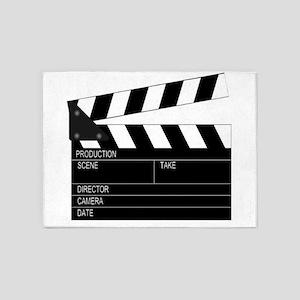 Director' Clap Board 5'x7'Area Rug