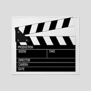 Director' Clap Board Throw Blanket