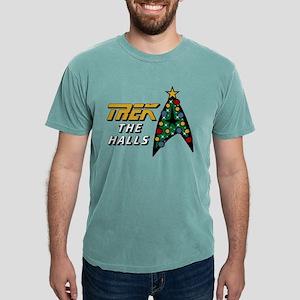 Star Trek the Halls Mens Comfort Colors Shirt