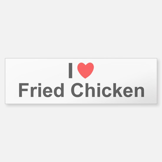 Fried Chicken Sticker (Bumper)