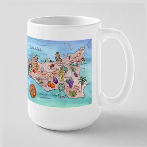 Sicilian Map Mugs