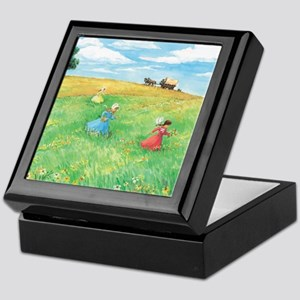 Little House On The Prairie Keepsake Box