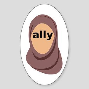 Muslim Ally Sticker