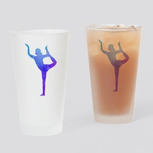 Color Your Life with Yoga Drinking Glass
