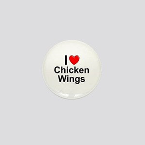 Chicken Wings Mini Button