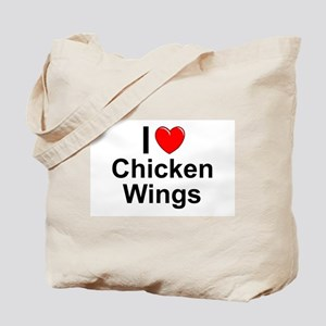 Chicken Wings Tote Bag
