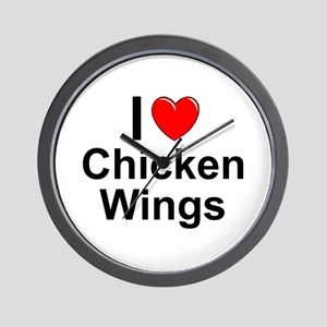 Chicken Wings Wall Clock
