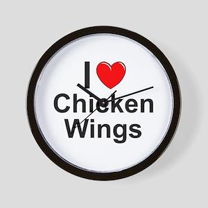 Chicken Wings Wall Clock