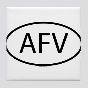 AFV Tile Coaster