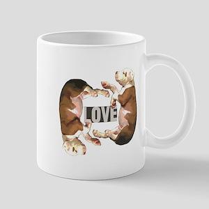 Pit bull Puppy Love Mugs
