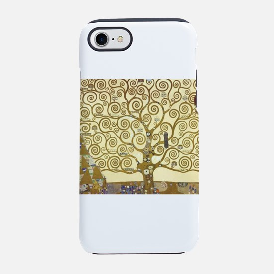 Tree of Life by Gustav Klimt iPhone 8/7 Tough Case