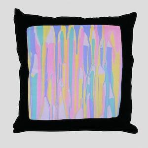 Pastel Vomit Throw Pillow